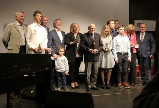Laureaci międzynarodowych nagród żeglarskich szczecina